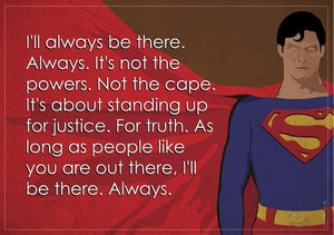 Superman superhero quote