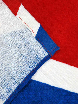 TW-040W Waving American Flag Beach Towel 30x60