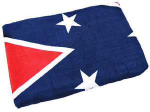 TW-165 Rebel Confederate Flag LARGE Beach Towel 40x70