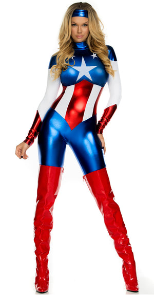 FP-554700 Astonishing Allegiance Superhero Costume