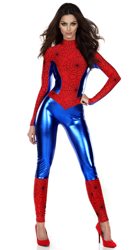 Woman's Spiderman Superhero Costume
