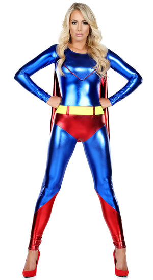 Superwoman 2-pc superhero costume 555124