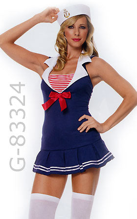 American Sailor Cadet costume dress 83324