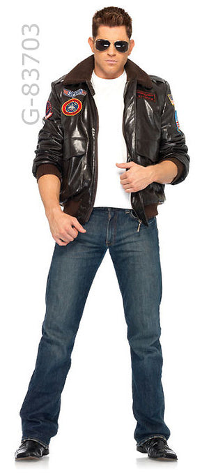 G-TG83703 Men's Top Gun Bomber Jacket Set