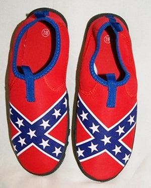 Rebel flag water shoes 100909