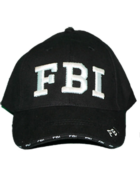 RF-302099 Black FBI Police Hat