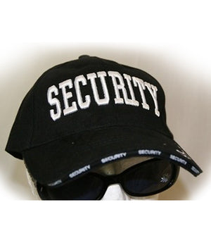 RF-5083 Black SECURITY Officer Cap