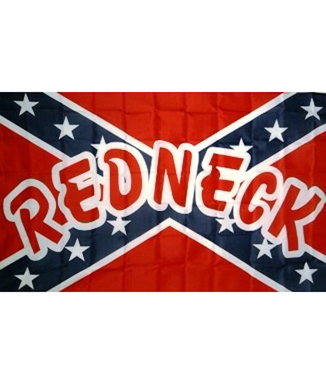 RF-833913 Rebel Redneck Flag 3x5 with Grommets