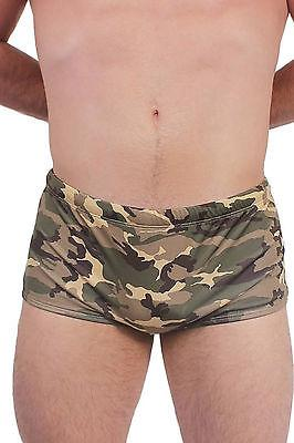 Camouflage Men's Brief Swimsuit