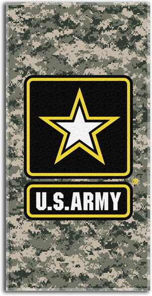 TW-1022 Army Camouflage Beach Towel 30x60
