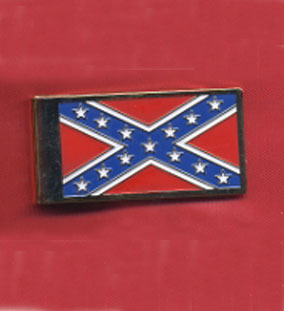 WC-MCREB Rebel Flag Money Clip