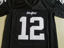 Men's #12 Andrew Luck Stratford High School American Football Jersey Stitched Sewn