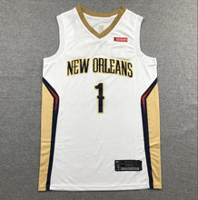 NBA Jersey 19 Season Pelicans Team 1 Zion Williams  Basketball jerseys 2019