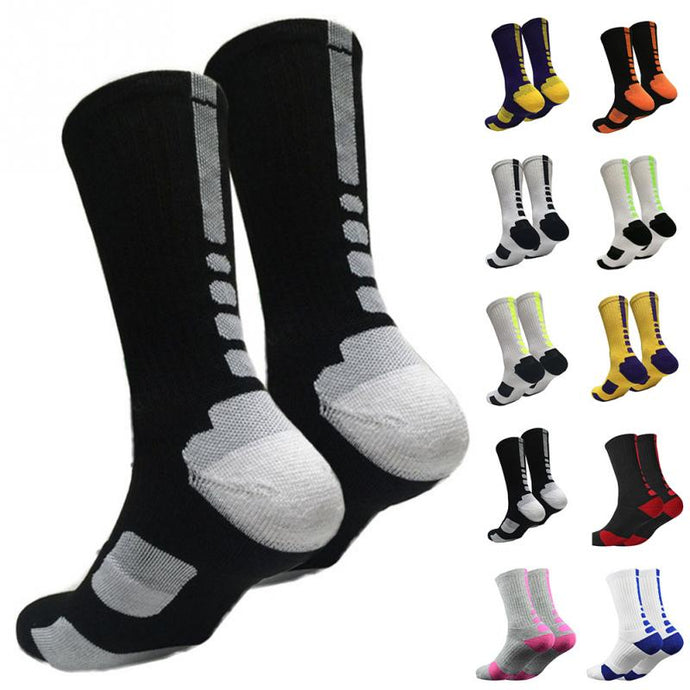 Outdoor Sport Men's Sport Professional Basketball Elite protection Socks
