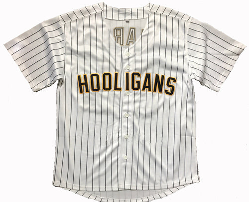 Bruno Mars 24K Hooligans Baseball Jersey  Stitched Throwback