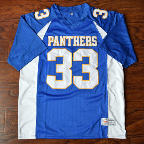 Men's Tim Riggins #33 Dillon High Football Jersey Stitched Blue