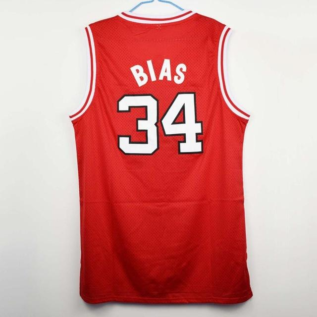 The Most Talented Len Bias #34 Maryland Basketball Jersey Stitched