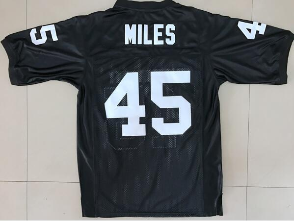 Boobie Miles 45 Friday Night Lights American Football Jerseys Throwback Stitched