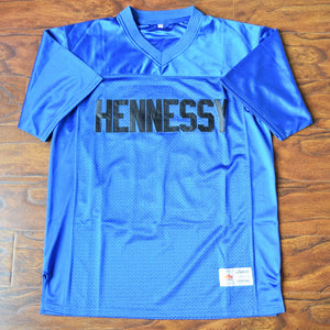 Men's RIP Prodigy Queens Bridge #95 Hennessy Football Jersey Stitched Blue - Shook Ones