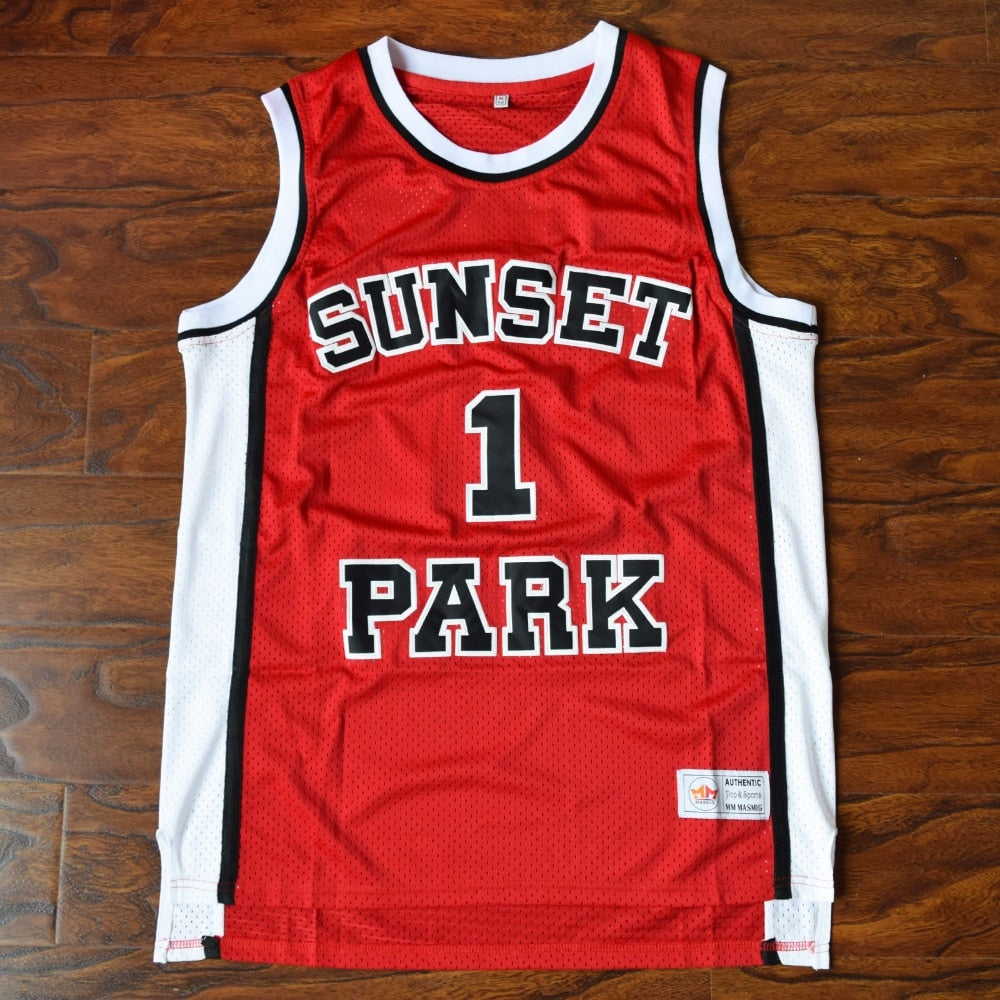 0a1fb0e8a2c7 ... Men s Fredro Starr Sh0rts  1 Sunset Park Basketball Jersey Stitched ...