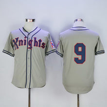 #9 Roy Hobbs New York Knights The Natural Redford Baseball Jersey
