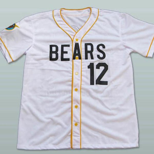 News Bears #12 Tanner Boyle Stitched  White Baseball Jerseys