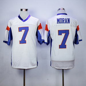 Men's Blue Mountain Men's 54 Thad Castle -7 Alex Moran Movie Football Jersey All Stitched