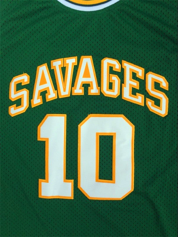 the latest 71e59 dfe06 Dennis Rodman 10 Oklahoma Savages Basketball Jersey Men's Shirt All stitched