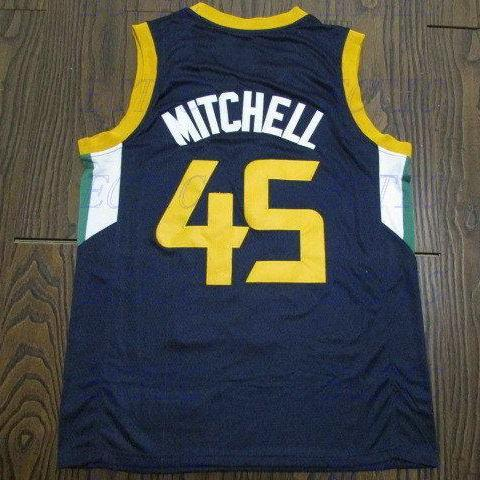 2018 NEW Retro Donovan Mitchell #45 Louisville Cardinals Basketball Jersey Stitched