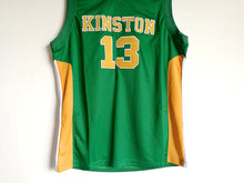 Men's Brandon Ingram 13 Kinston High School Green  Embroidery Stitched Basketball Jersey