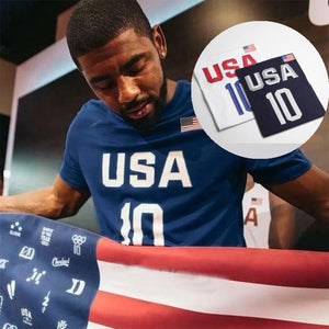 2018 Mens Basketball Jerseys Dream Team Kyrie IRVING 10  Basketball stitched