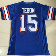 Men's Florida Gators #15 Tim Tebow  American Football Jersey College Men Sport