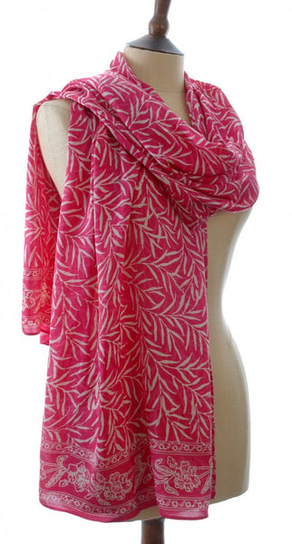 Hand Made Silk batik sarong and scarf by Your Sarong