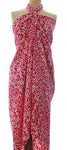 Batik sarong and wrap in deep cerise from Your Sarong