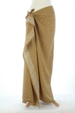 Gold Diamonds Hand Made Batik Sarong/Wrap