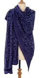 Indigo Blue Java Batik Sarong or Wrap