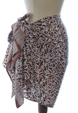 Chocolate Java Silk  Batik Sarong/Wrap