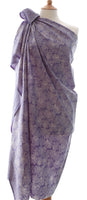 New Plumes Batik Sarong/Wrap in Lavender