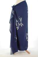 Royal Blue Dragonfly Sarong/Wrap