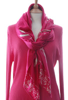 Perfectly pink batik dragonfly sarong or wrap truly multiuseful
