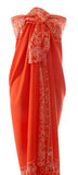 Hand Made batik sarong and wrap by Your Sarong in orange