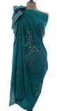 New Jade Dragonfly Sarong/Wrap