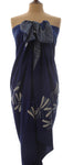Royal Blue Dragonfly Sarong/Wrap 180x110cm