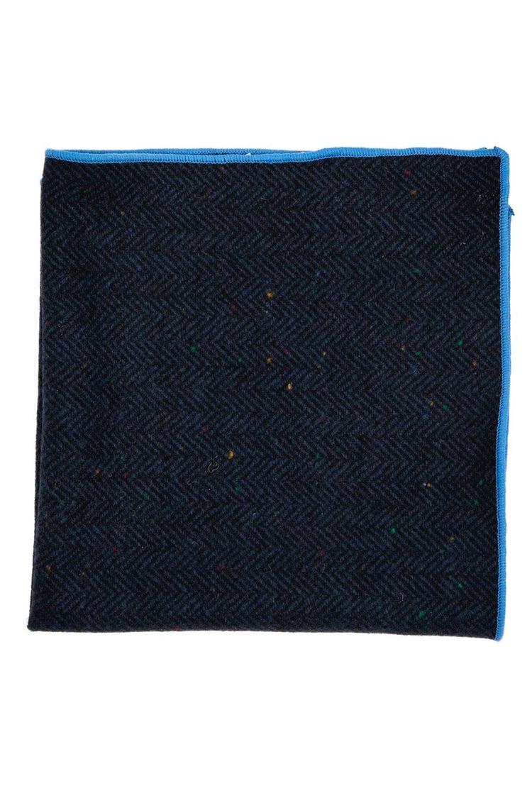The Navy Wool Pocket