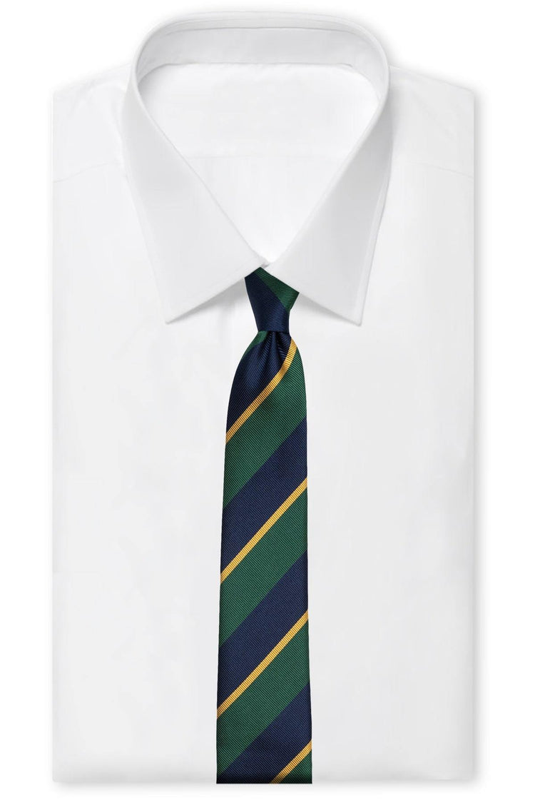 The Refined Preppy Silk
