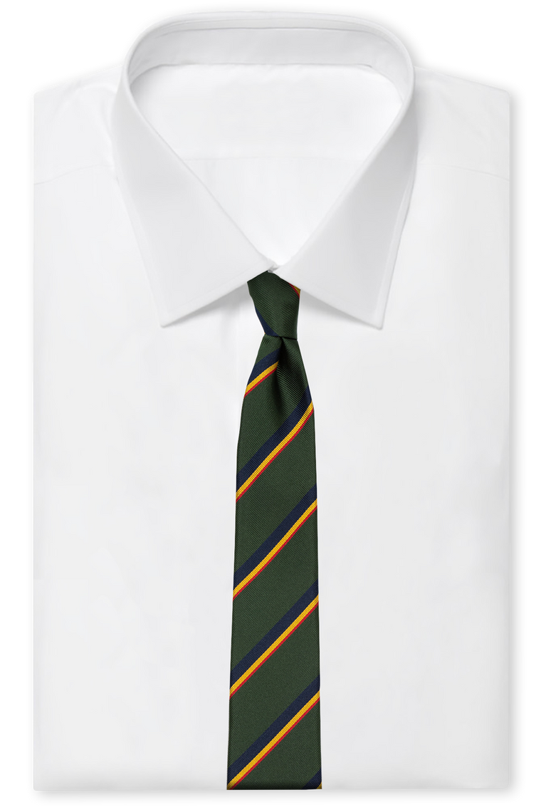The Dark Green Prepster Silk
