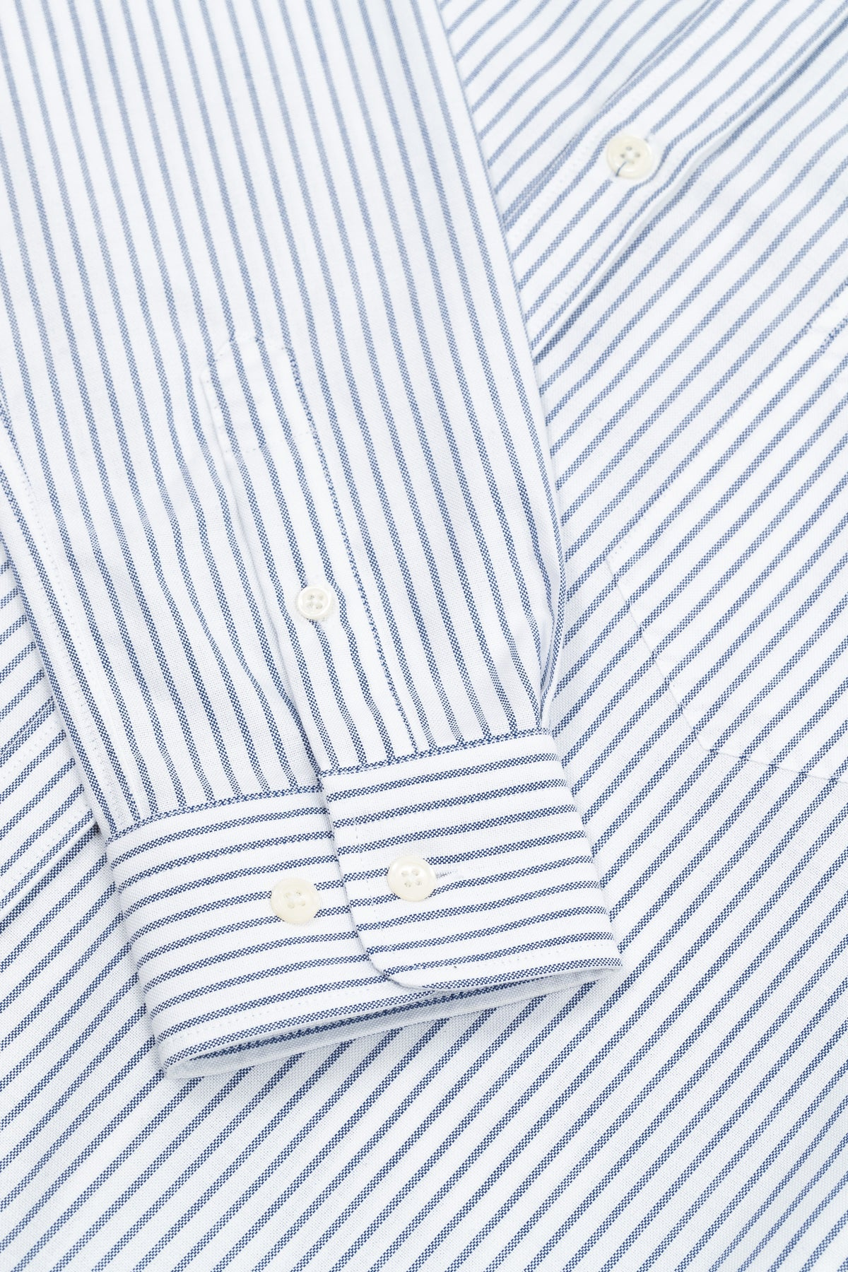 The Narrow Striped Oxford Shirt