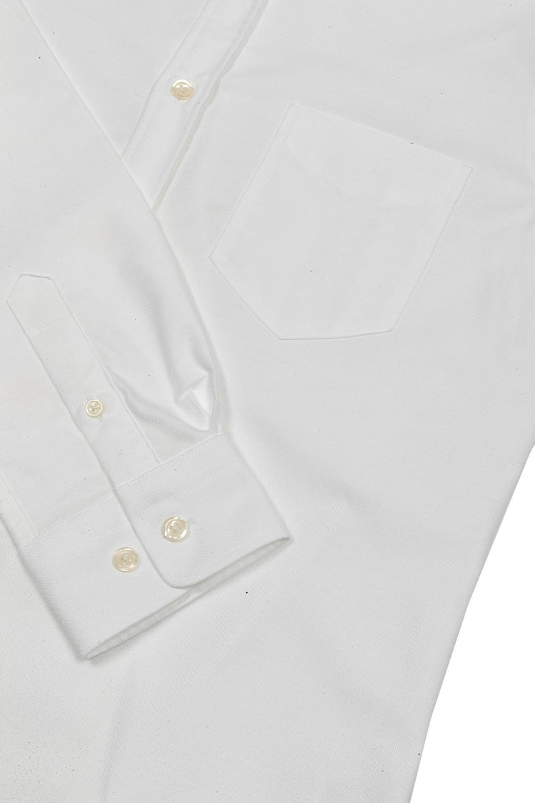 The White Oxford Shirt