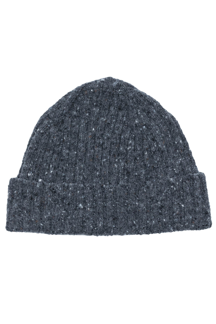 Charcoal Donegal Beanie