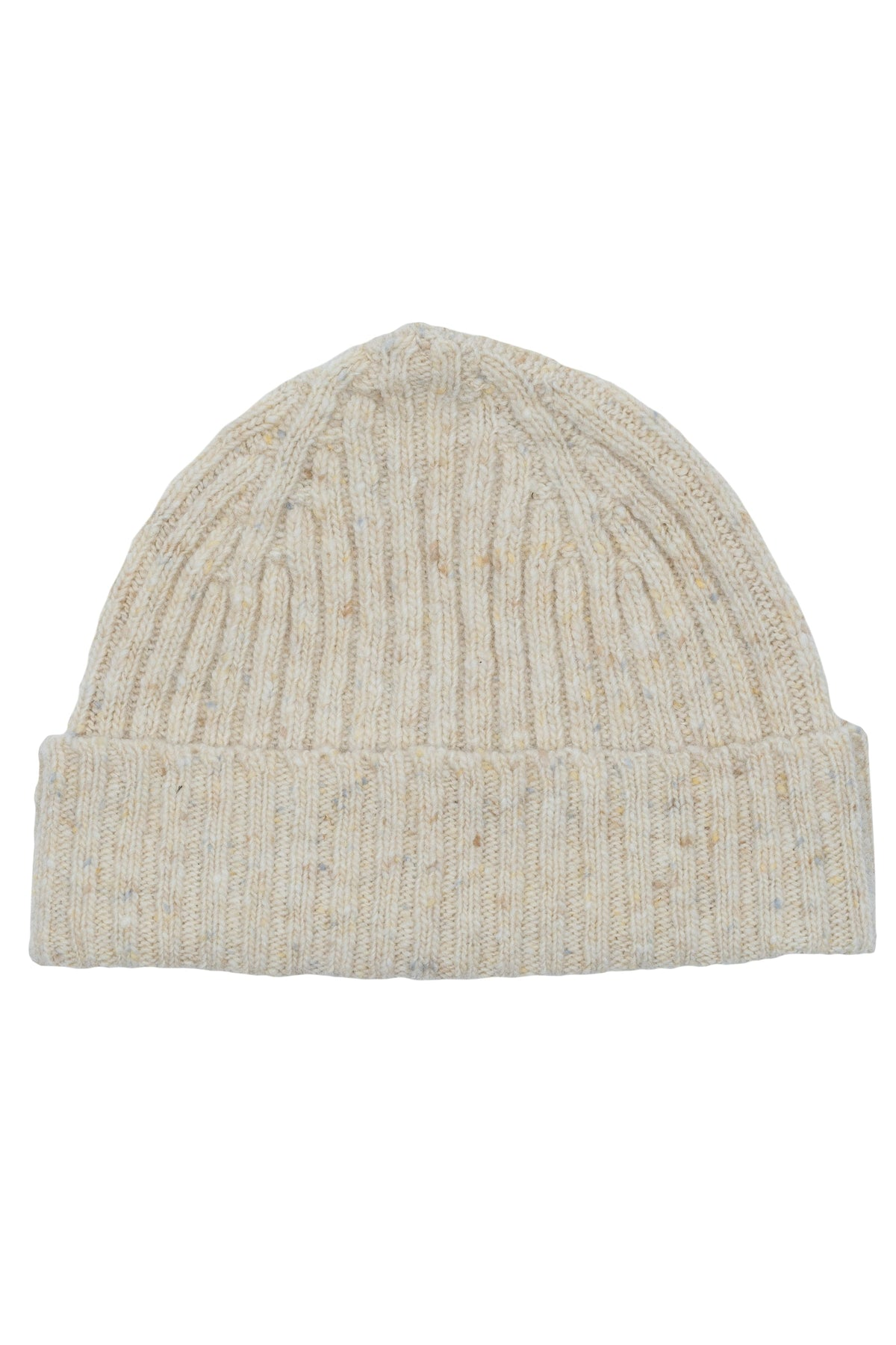 Beige Donegal Beanie